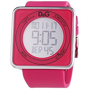 D&G Reloj con Correa de Poliuretano para Hombre DW0737