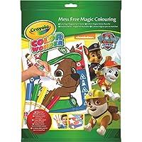Paw Patrol - Color Wonder Kit, libro de colorear (Crayola 75-2298)