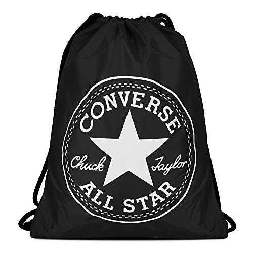 converse unisex palestra sac flash gymsack c40fgb10 nero