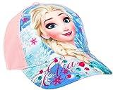 Frozen Eiskönigin Baseball Cap für Kinder, rosa, Art. 5793, Gr. 52