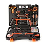 LESHP 82 Piece DIY Tool Kit for Home use Basic Repair Tool set with Tool Box for Precision Maintenance