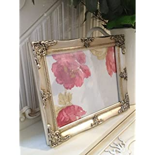 Antique Silver Ornate Picture frame 8x10