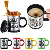 Flyngo Self String Electric Shaker Mug For Travel, Gym, Outdoor & ETC. Coffee, Tea, Protein Shake & Multi Drink Mug