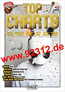Top Charts 69 + CD Andreas Bourani - Auf uns, Cro - Traum, Georg Ezra - Budapest, Riptide, Nico & Vinz, The Common Linnets - Calm after the storm