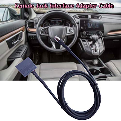 dapter Auto AUX Eingang Buchse Interface Adapter Kabel Fit Kunststoff ()