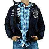 Camp David Jacke m. Kapuze CCB-1855-2760 Blue Navy (XXXL)