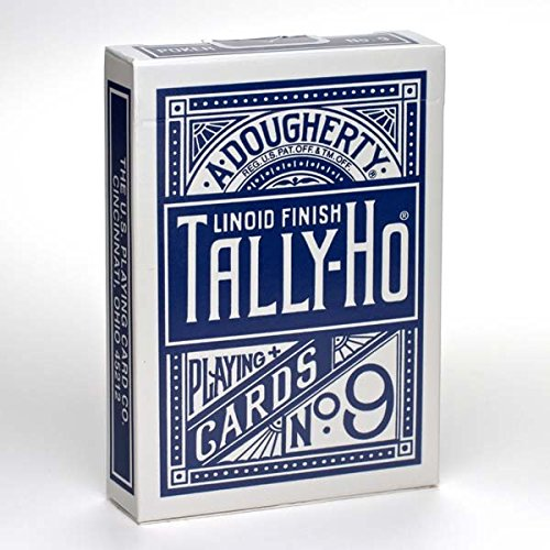 tally-ho-fan-blue-back-playing-cards