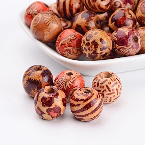 pandahall-los-granos-redondos-impresa-de-maderacolor-mixto16x15mmagujero-5-mm