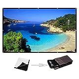 Best Excelvan Home Cinéma Projecteurs - YsinoBear 120 Pouces 16: 9 Écran de projecteur Review