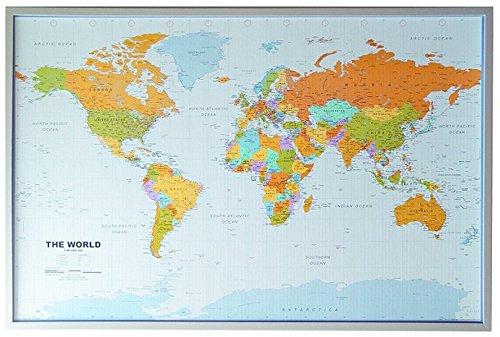 Cartina Mondo Alta Risoluzione.Allestire Una Parete Di Casa Con Le Mappe Del Mondo Social Casa