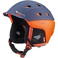 5b23a803 Cairn IBrid Rescue Freeski Ski Snow Helmet Matte Midnight Scarlet Techno  Large