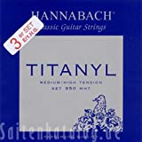 Hannabach 9508 MHT TITANYL Medium/High Tension, 3-Treble Set