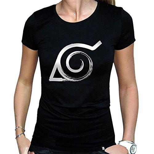 Camiseta de chica de Naruto Konoha