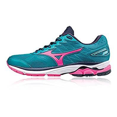 Mizuno Women's Wave Rider W Running Shoes, Blue: Amazon.co