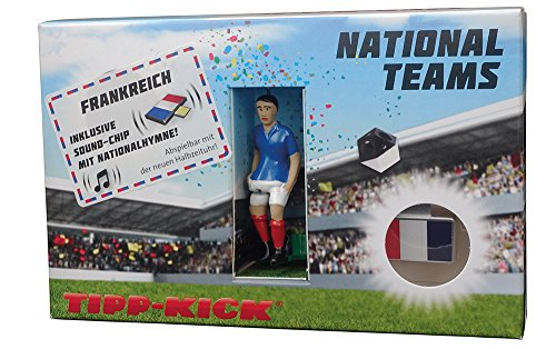 51HUigBjDuL - TIPP-KICK 031032 Star-Kicker Frankreich in Torwandbox mit Hymne