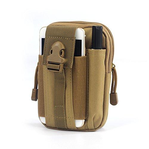 tasca esercito tattico softair borsa marsupio sport uomo impermeabile bag puo' porta cellulare