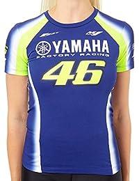 Valentino Rossi Camiseta Mujer Yamaha Racing Azul Royal