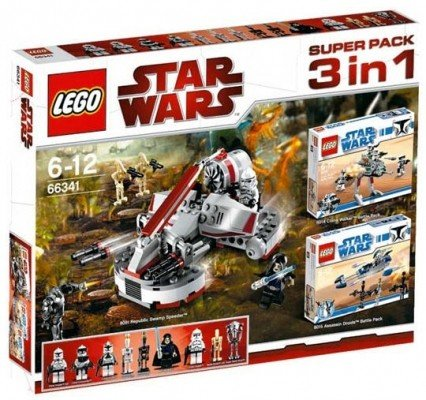 LEGO Star Wars 66341 - 3 in 1 Super Set - inkl. 8014 8015 8091