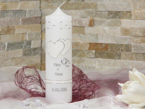 Hochzeitskerze | Traukerze