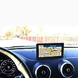 GPS Voiture 5 Pouces Ecran Tactile, 8GB Instructions Vocales, Système de Navigation avec Multi-Languages, Mise à Jour à Vie de la Carte dans 52 Pays
