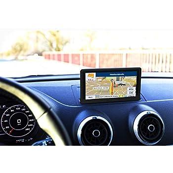 GPS Coches para Camiones 7 Pulgadas Camión Navegador Sat Nav Mapa Europa Actualizaciones de Toda la