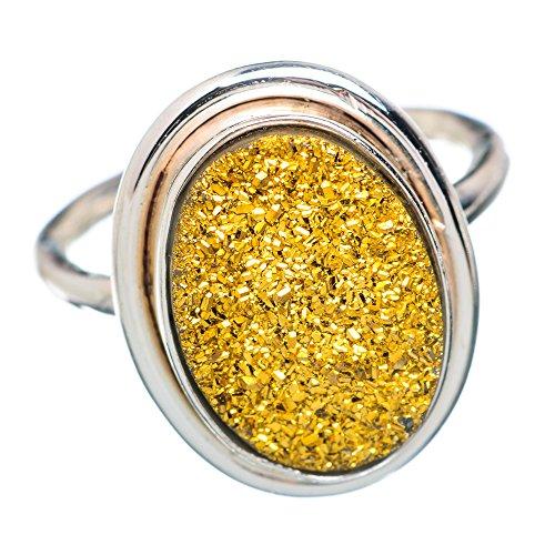 erling Silber Ring 6 (Druzy-ring)