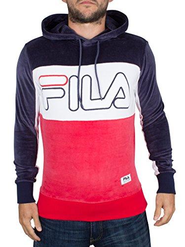 fila-vintage-homme-black-line-baggio-panel-logo-hoodie-bleu-x-small
