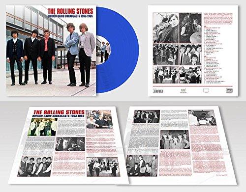 British Radio Broadcasts  (Lim.Blue 180 Gr.Lp) [Vinyl LP] (Rolling Stones Vinyl Record)