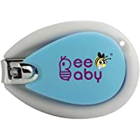 BeeBaby Premium Nail Clipper for Newborns/Babies (Blue)