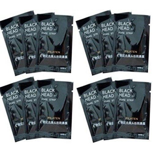 Boolavard® Pilaten 12 Nez Blackhead Strips de déménagement - Pore Masques