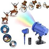 【WeihnachtsGeschenke】Weihnachtsbeleuchtung LED Projektor Lichter innen/außen,Weihnachten LED Dekoration Effektlicht Wasserdicht IP65 für Garten Haus