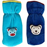 ADRIEL BRINGING JOY® Newborn Baby Feeding Bottle Cover With Soft & Attractive Cartoon Bottle Cover 240 ML - Pack Of 2 (BIG SIZE)