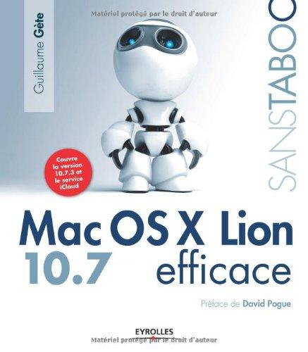 Mac OSX Lion 10,7 efficace par Guillaume Gete