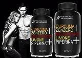 CZMLP+ A.I.F. (90 CPR) CURCUMA-ZENZERO-MELOGRANO-LIMONE-PIPERINA il BRUCIAGRASSI SNELLENTE con i 5 + POTENTI PRINCIPI ATTIVI!!! Prodotto 100% Naturale - ITALIANO immagine