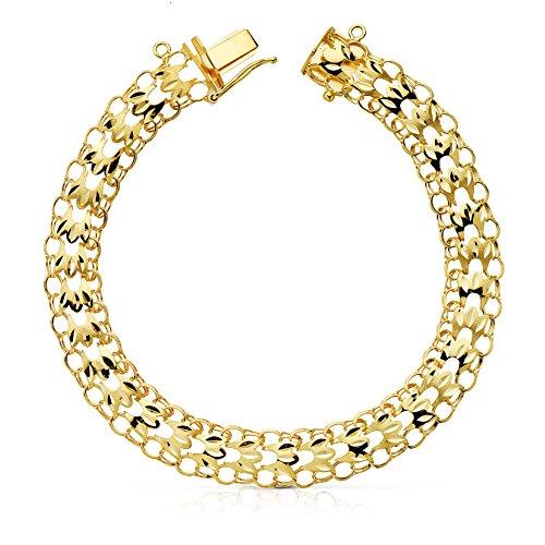 Armband Damen-yurena 20.5cm Gold 18KTES