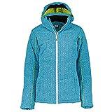McKINLEY Bibi Kinder Skijacke Mädchen Türkis Winterjacke, Größe:164