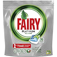 Fairy Platinum Detersivo in Pastiglie per Lavastoviglie, Confezione da 70 Caps
