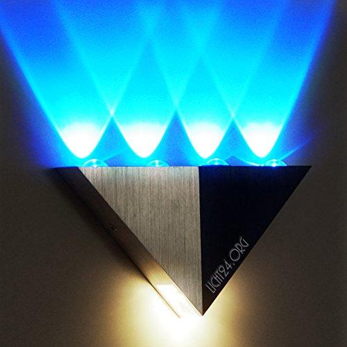 AS Flurlampe w/b Wandleuchte Design-Strahler Badlampe 5,7 Jahre (Las Vegas-led)