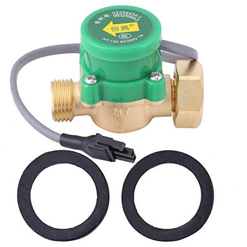 Interruptor de Control de Flujo de Agua de Bomba de Conector Circulación de CA 220V de G3 / 4 Hembra a G1 / 2 Macho