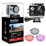 AKASO EK7000 Plus 4K 16MP WIFI Action Camera Adjustable View Angle 30M Waterproof