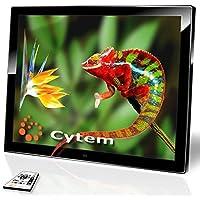 Cytem Diamine 15; Digitaler Bilderrahmen 38,1cm (15 Zoll im 4:3 Format); Mattes LED Display; HD-Video (720p), schwarz