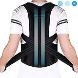 Doact Corrector de Postura Recta Soporte de Espalda para Mujeres y Hombres...