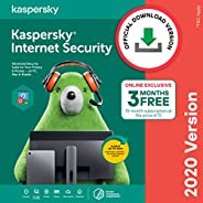 Kaspersky Internet Security 2020 Latest Version - 1 PC, 1 Year + 3 Months Free (Total 15 Months) (Email Delive