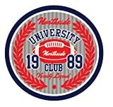 University Northside Club Amercian Football Rugby Sport Emblem Badge Hochwertigen Auto-Autoaufkleber...