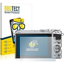 BROTECT AirGlass Protector Pantalla Cristal Flexible Transparente para Nikon 1 J5 Protector Cristal Vidrio - Extra-Duro, Ultra-Ligero, Ultra-Claro
