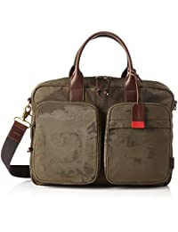 Fossil Herren Tasche-Defender Top Zip Workbag Business, Grün (Green), 29.8 x 11.4 x 38.8 cm