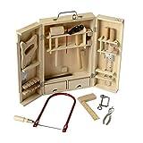 Beluga 20202 - Valigetta degli attrezzi, in legno