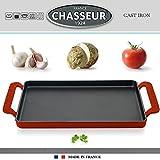 Chasseur - Rechteckige Plancha 42 x 24 cm - Rot 3352