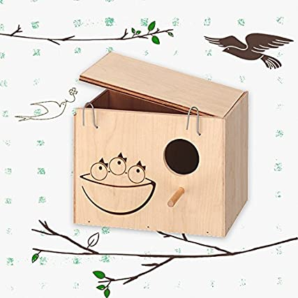 Accessori uccelli Ferplast NIDO MEDIUM legno casetta rifugio riparo
