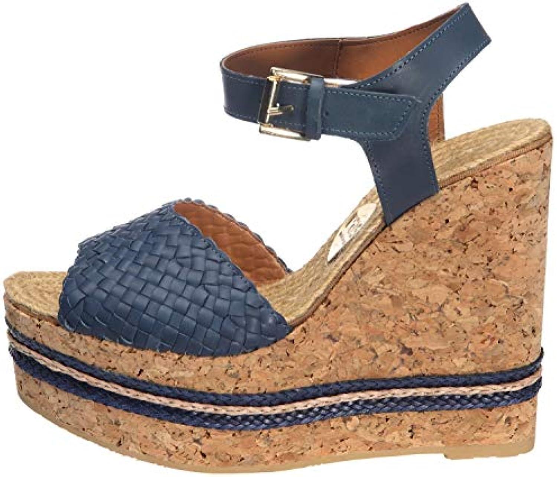 RAS 752JU3G cuneo sandali con plateau in pelle pelle pelle océan   Nuovo mercato    Maschio/Ragazze Scarpa  7c5aaf